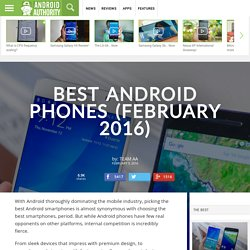 Best Android Phones of 2015
