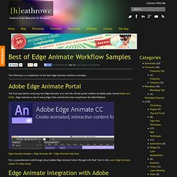 Best of Edge Animate Workflow Samples -
