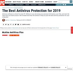 The Best Antivirus for 2014
