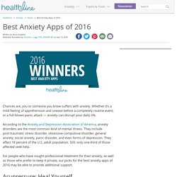 Best Anxiety Apps of 2016