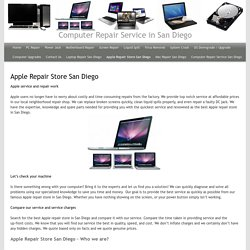 Best Apple Repair Store in San Diego USA