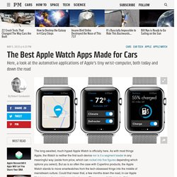 The Best Apple Watch Apps Made for Cars