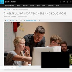Best Apps for Teachers and Educators
