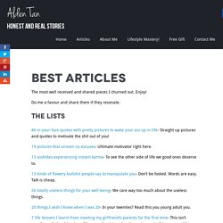 Best articles - Alden-tan.com