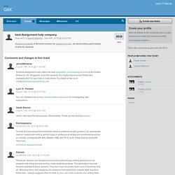 #530 best Assignment help company - GitX - gitx