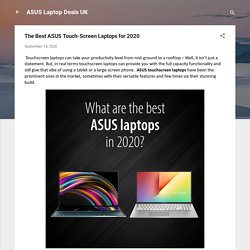 The Best ASUS Touch-Screen Laptops for 2020