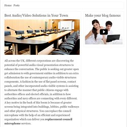Best Audio/Video Solutions in Your Town