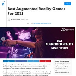 Best Augmented Reality Games for 2021