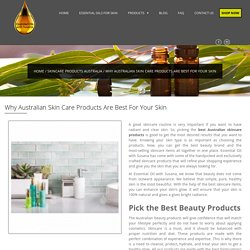 Best Australian Skin Care Products that Are Best For Your Skin