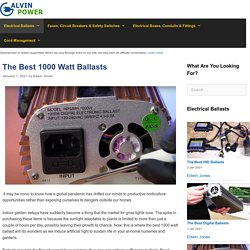 10 Best 1000 Watt Ballasts Reviewed and Rated in 2021
