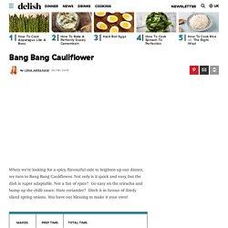 Best Bang Bang Cauliflower Recipe - How to Make Bang Bang Cauliflower