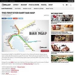 Best Bars Near Every BART Stop - SF Oakland Bay Area