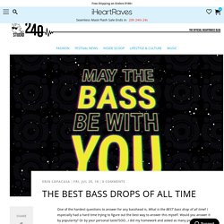 The Best Bass Drops of All Time - Studio 240 Blog