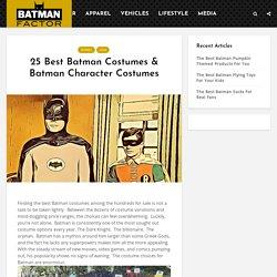 25 Best Batman Costumes & Batman Character Costumes