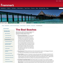 The Best Beaches in Costa Rica at Frommer