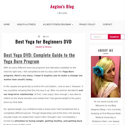 Best Yoga for Beginners DVD [#1.BEST & RECOMMENDED]
