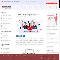 11 Best Betting Apps 2019