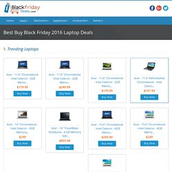 Best Buy Black Friday Laptop Deals