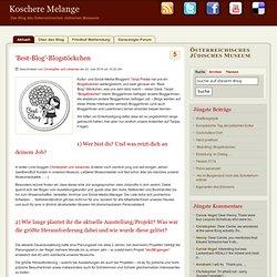 'Best-Blog'-Blogstöckchen