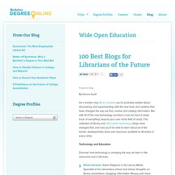 100 Best Blogs for Librarians of the Future