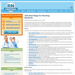 100 Best Blogs for Nursing Students
