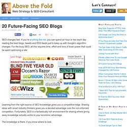 20 SEO Blogs to Watch in 2012 | Cyrus Shepard SEO