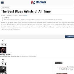 Best Blues Artists of All Time