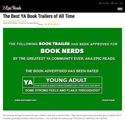The Best YA Book Trailers of All Time