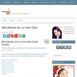 Best Books for 11-Year Olds
