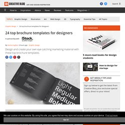 15 of the best brochure templates for designers