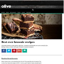Best ever brownie recipes - olive