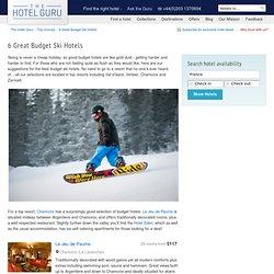 Best Budget Ski Hotels