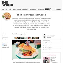 A burger bonanza - The Word Magazine
