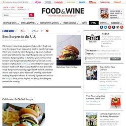 Best Burgers - Best Hamburgers in America - Delish.com