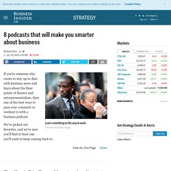 Podcasts to boost your business knowledge