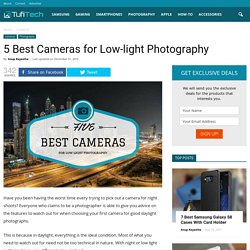 5 Best Cameras for Night Photography of 2017