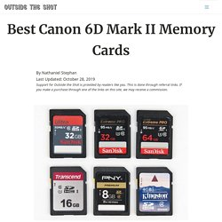 Best Canon 6D Mark II Memory Cards