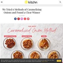 The Best Caramelized Onion Method