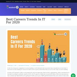 Best Careers Trends In IT For 2020