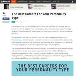 The Best Careers For Your Personality Type
