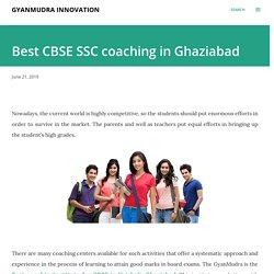 Best CBSE SSC coaching in Ghaziabad