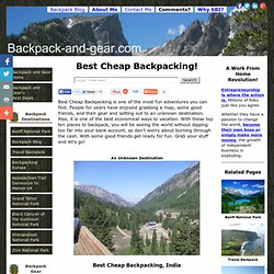 Best Cheap Backpacking