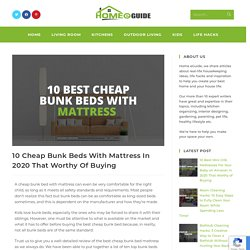 10 Best Cheap Bunk Beds With Mattress Set On Amazon In 2020