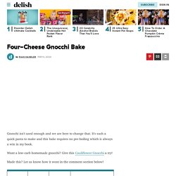 Best Four-Cheese Gnocchi Bake Recipe - How To Make Four-Cheese Gnocchi Bake