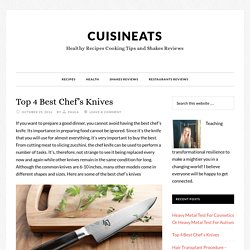 Top 4 Best Chef's Knives