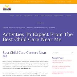 Child Care Centers Near Me