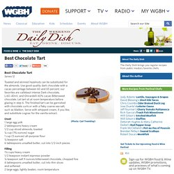 Best Chocolate Tart by America's Test Kitchen