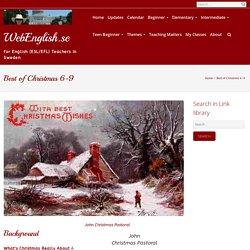 Best of Christmas 6-9 – WebEnglish.se