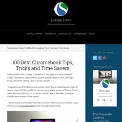 Top 90 Tips for Google Chromebook