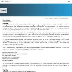 Best B ed College in Chattisgarh
